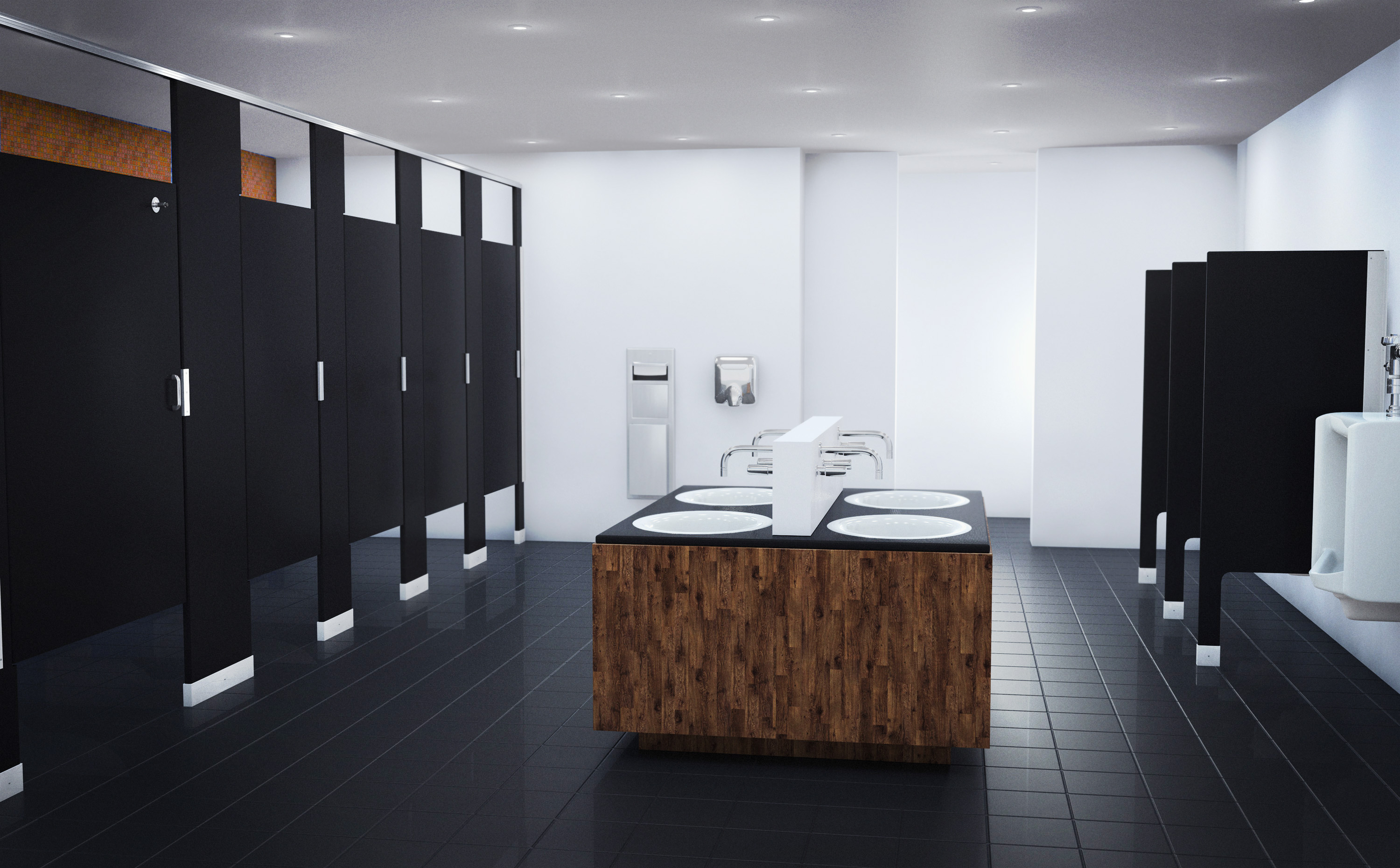 new trends in commercial restroom design
