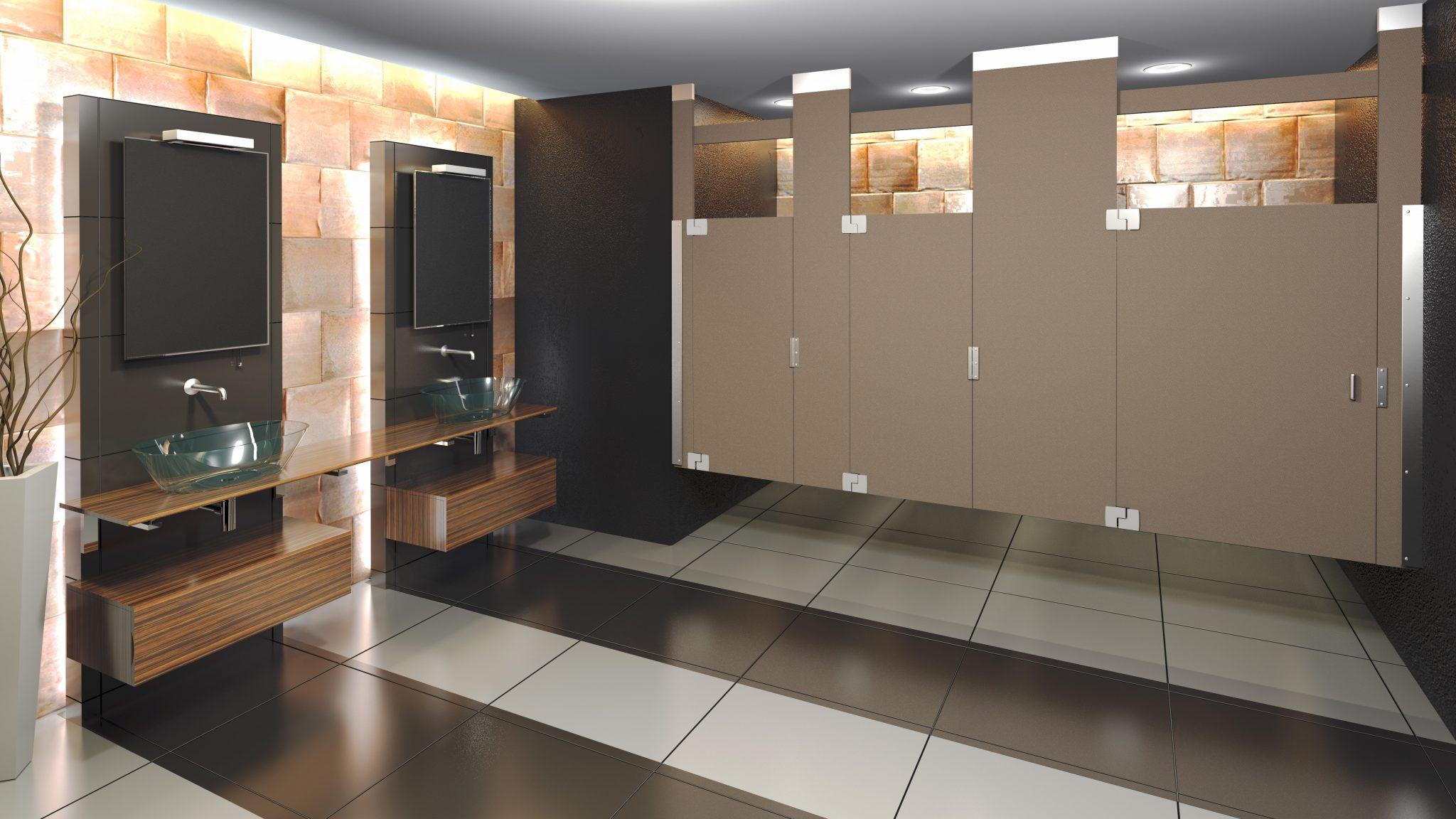 Configurations of Toilet Partitions - Scranton Products