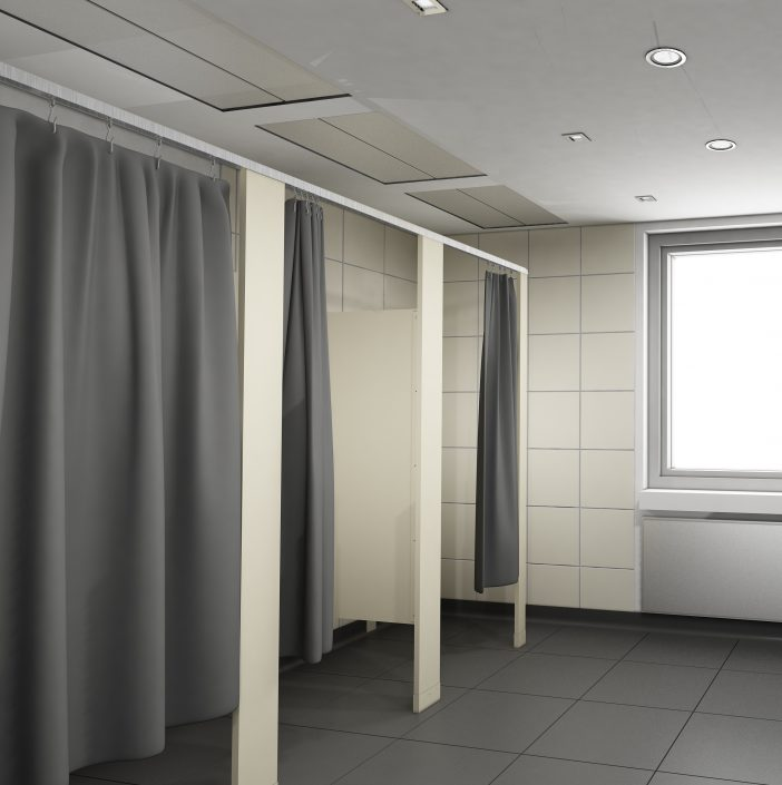 Shower Stalls & Dressing Compartments