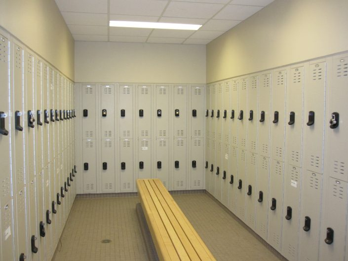 Grey Industrial Lockers