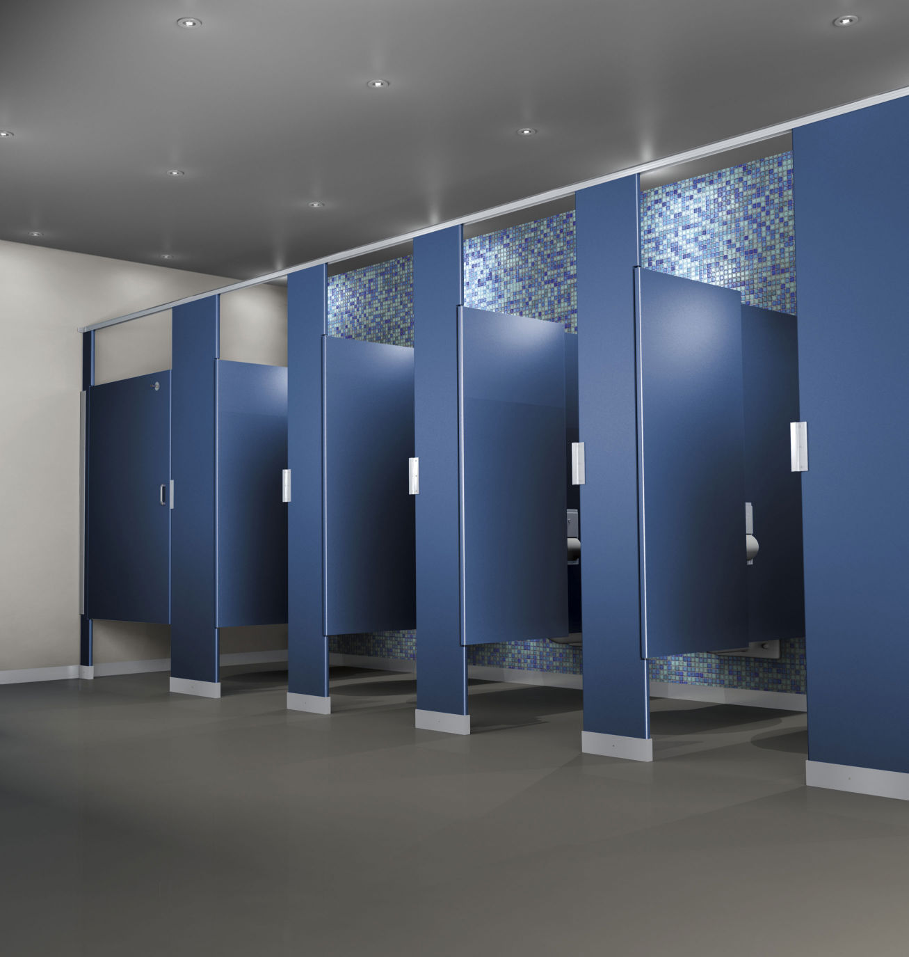 Things To Consider Before Designing Your Commercial Bathroom - Bathroom partition design