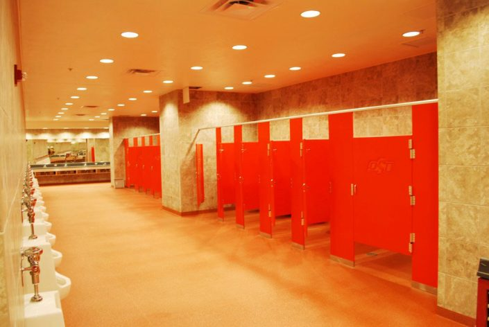Hiny Hiders Partitions® Color: Custom Orange