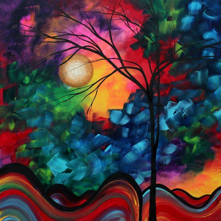Bold Colorful Landscape